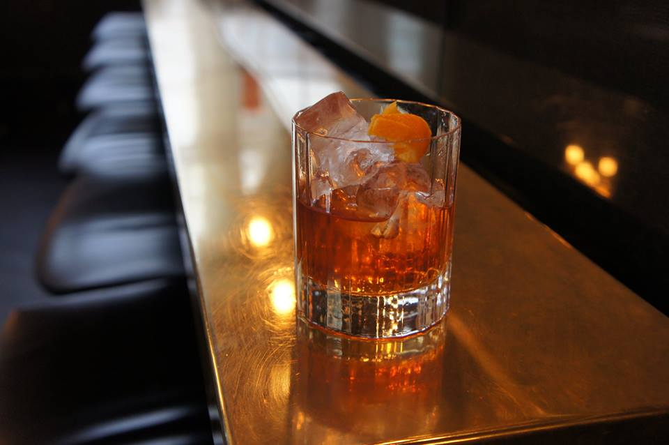 Salted Rum Old Fashioned