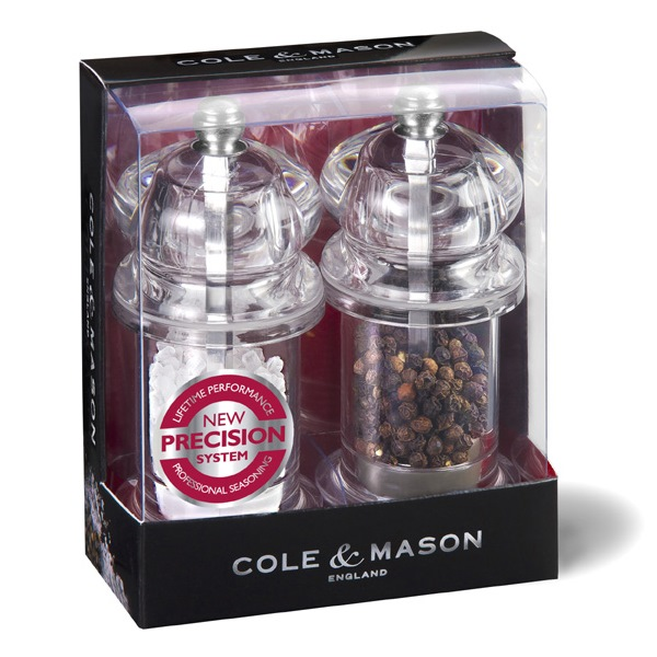 Salt and Pepper Mill Gift Set