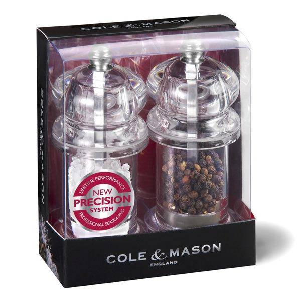 Salt and Pepper Mill Gift Set