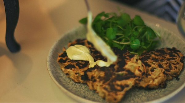 Parsnip and Chilli Pancakes
