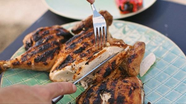 Barbecued Garlic Chicken