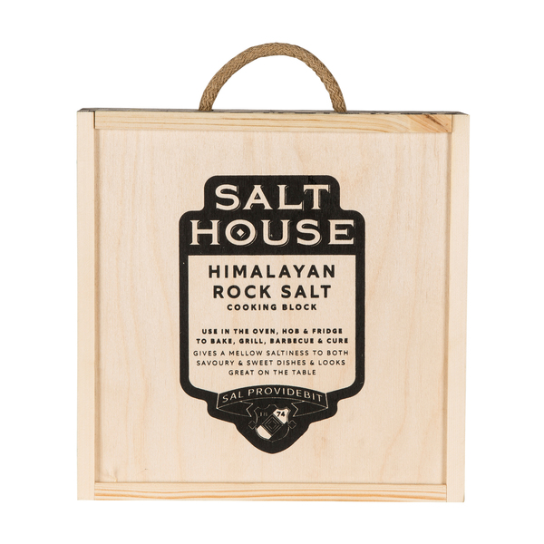 Salthouse Round Himalayan Salt Block with box