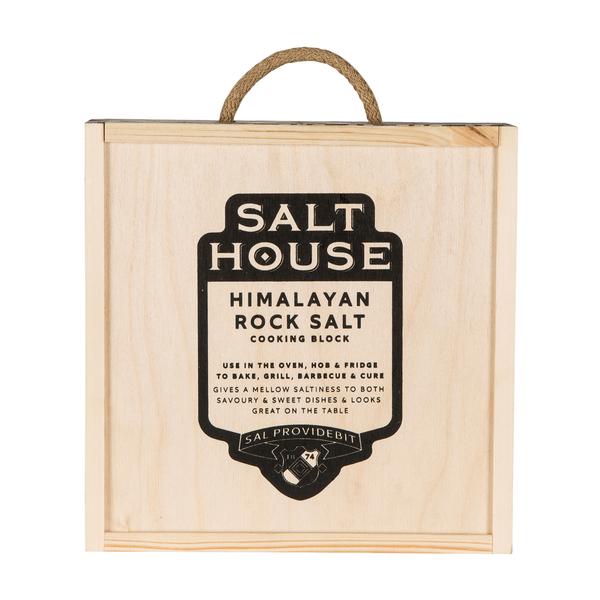 Round Himalayan Salt Block Gift