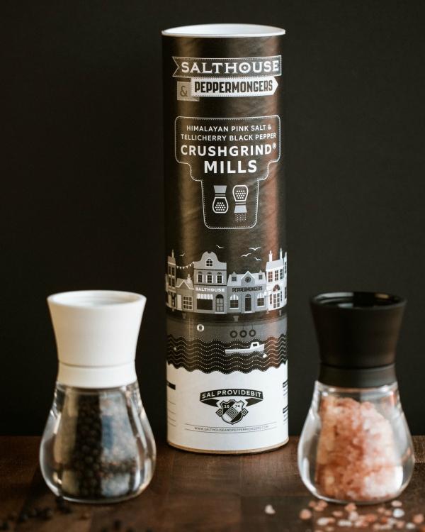 Salthouse & Peppermongers - Gourmet Salt & Pepper