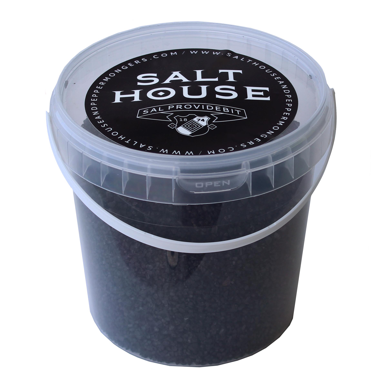 Salthouse Hawaiian Black Lava Salt 1kg