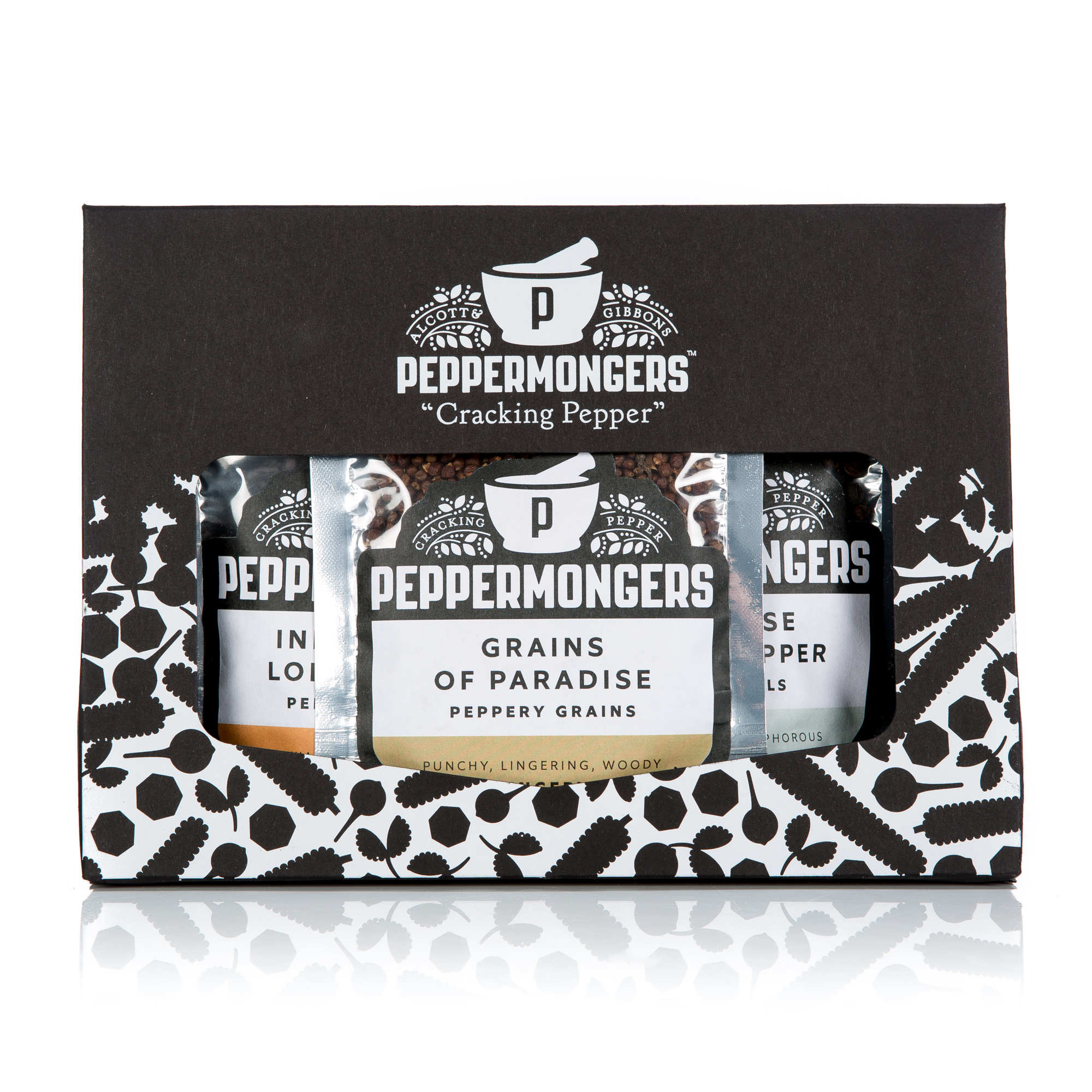 Peppermongers Exotic Pepper Gift Pack