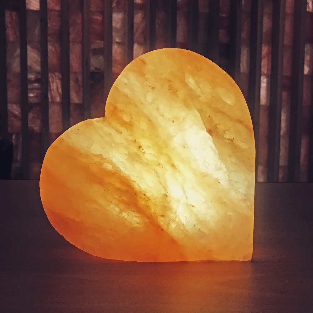 Himalayan Salt Block Heart