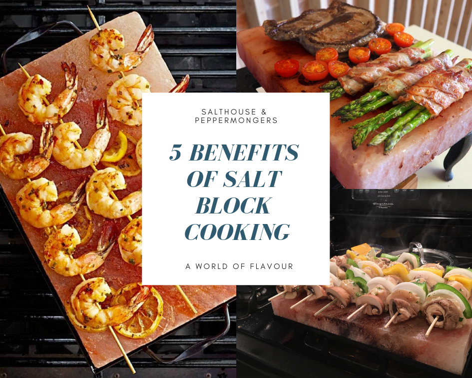 5 Benefits of Himalayan Salt Block Cooking