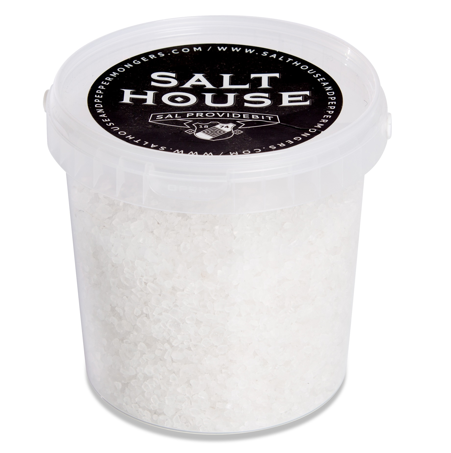 Natural White Rock Salt, 1kg