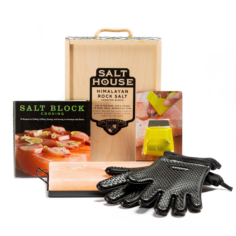 Himalayan Salt Block Cooking Deluxe Kit