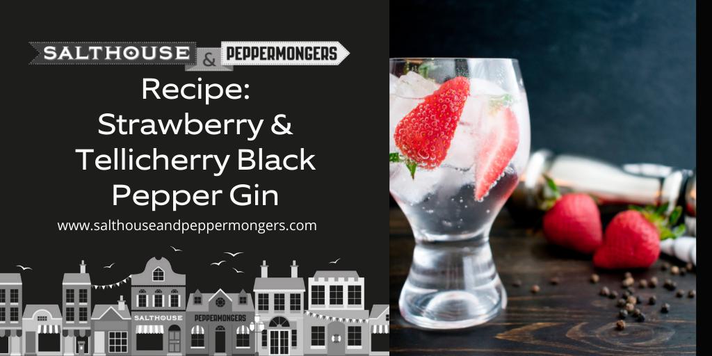 World Gin Day - Strawberry & Tellicherry Black Pepper Gin